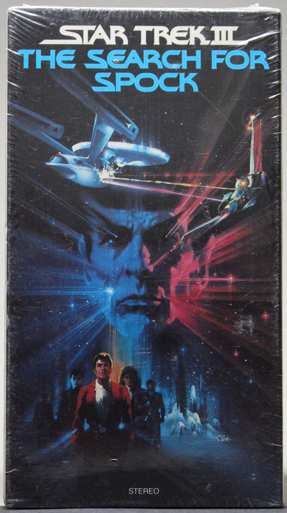 STAR TREK III: THE SEARCH FOR SPOCK - VHS (sealed)