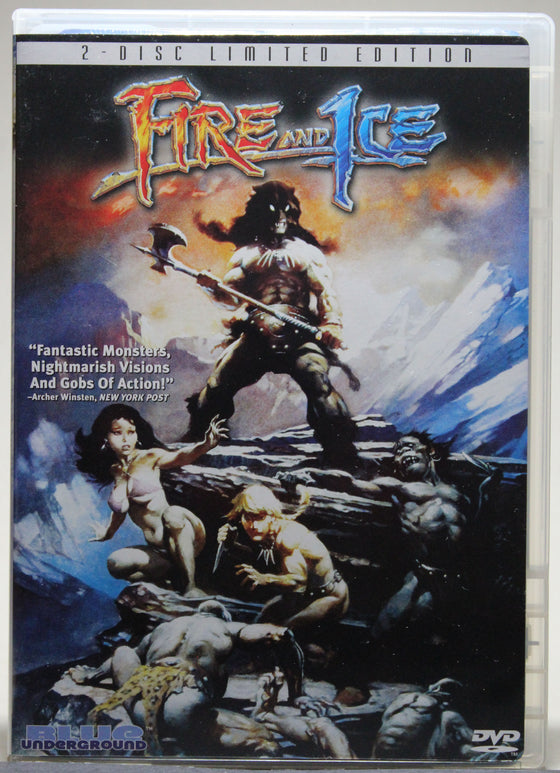 FIRE AND ICE - DVD: Blue Underground, 2005