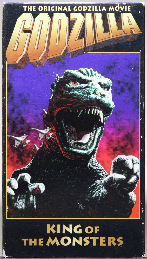 Godzilla: King of the Monsters - VHS