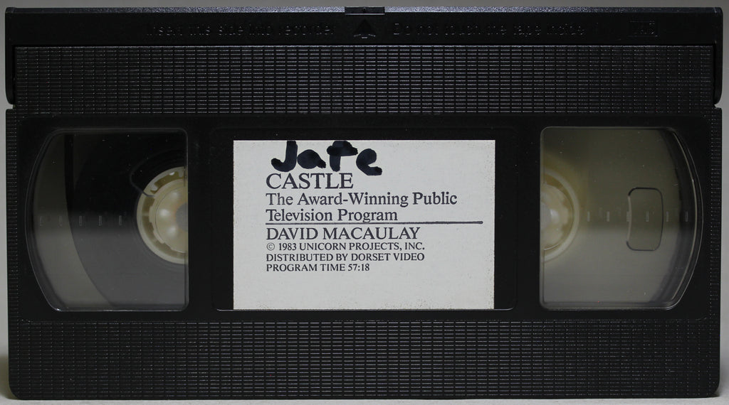 CASTLE - VHS: Dorset Video, 1983