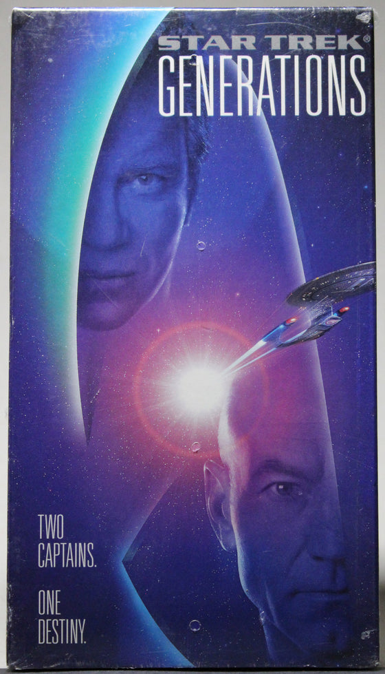 STAR TREK GENERATIONS - VHS (sealed): Paramount, 1995