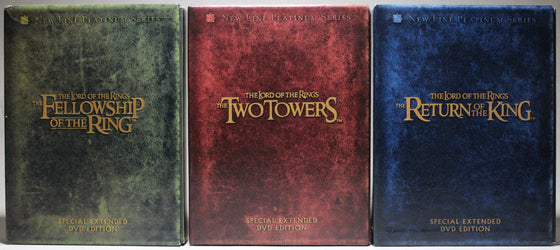 THE LORD OF THE RINGS: SPECIAL EXTENDED EDITIONS - DVD: New Line Home Entertainment