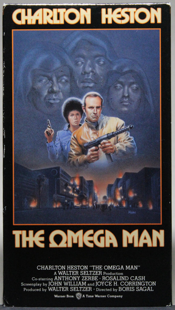 THE OMEGA MAN - VHS: Warner Home Video, 1991
