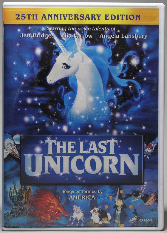 THE LAST UNICORN: 25th ANNIVERSARY EDITION - DVD: Lionsgate, 2007
