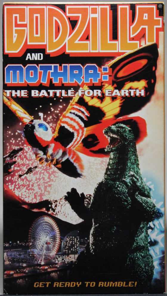 Godzilla and Mothra: The Battle for Earth - VHS