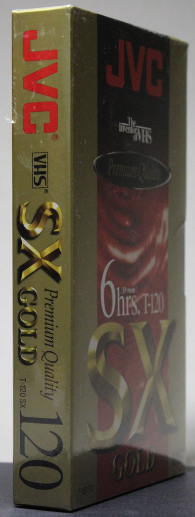 JVC SX Gold T-120 - Blank VHS (sealed)