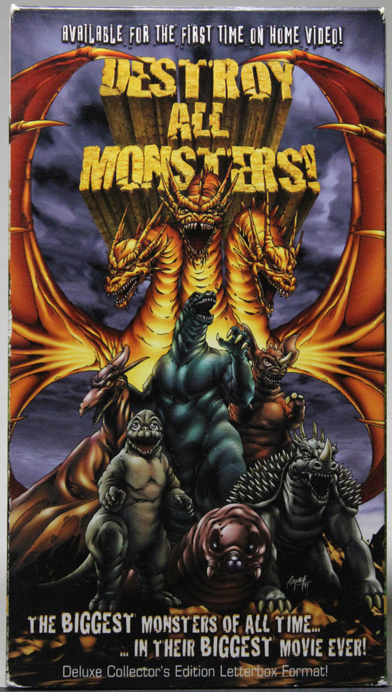 Destroy All Monsters! - VHS