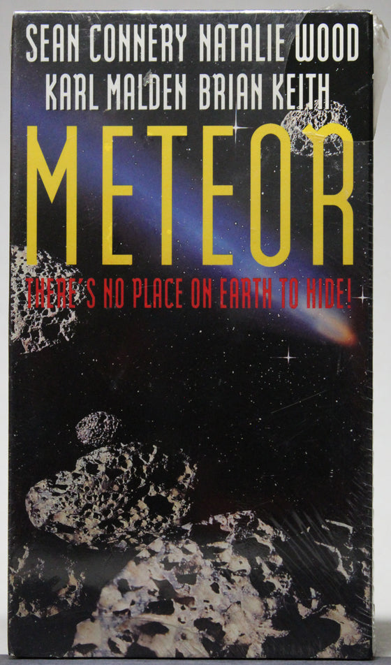 METEOR - VHS (sealed): GoodTimes Home Video, 1993