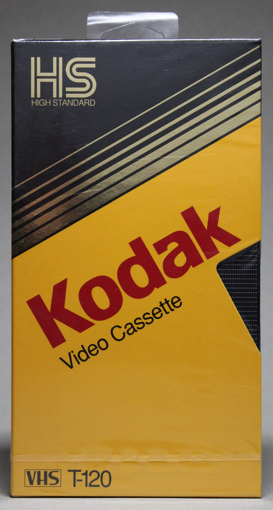 Kodak HS (High Standard) T-129 - Blank VHS (sealed)