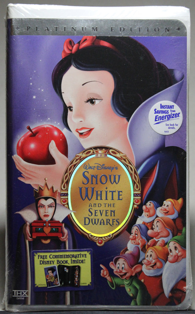 Snow White and the Seven Dwarf: Platinum Edition - VHS (sealed): Walt Disney Home Video, 2001