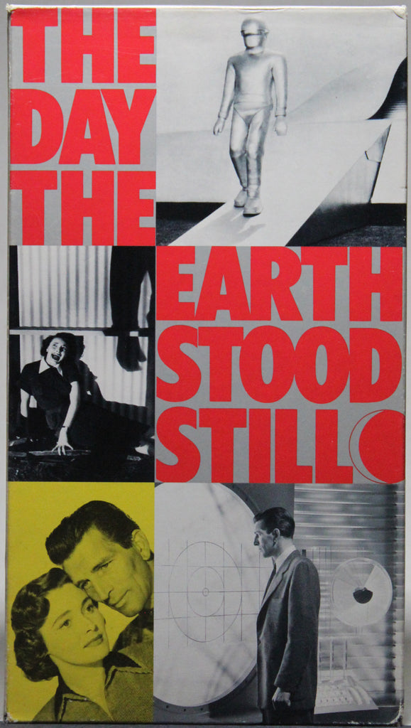 THE DAY THE EARTH STOOD STILL - VHS: Fox Video, 1991