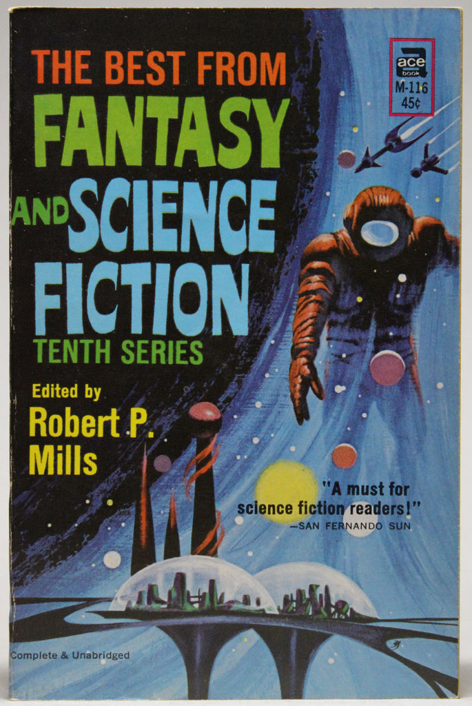 MILLS, ROBERT P. (ed.): The Best From Fantasy and Science Fiction: Tenth Series