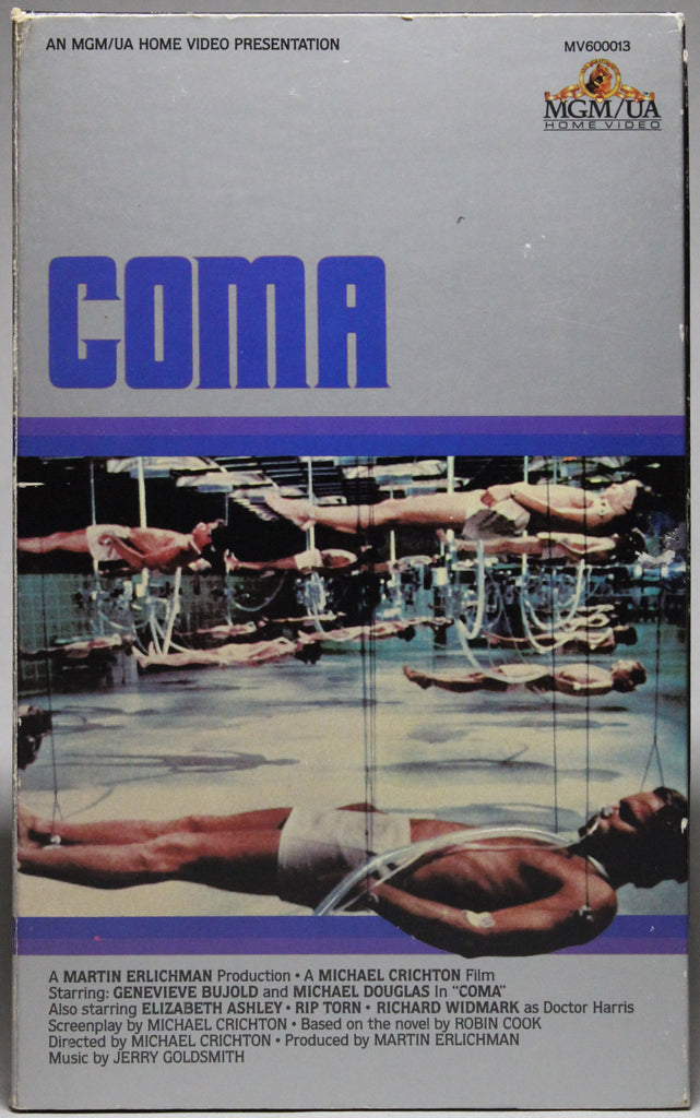COMA - VHS: MGM/UA Home Video, 1983