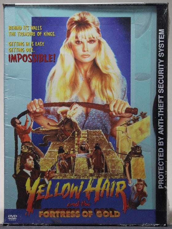 YELLOW HAIR AND THE FORTRESS OF GOLD - Snap Case DVD (sealed): Rhino Home Video, 2003