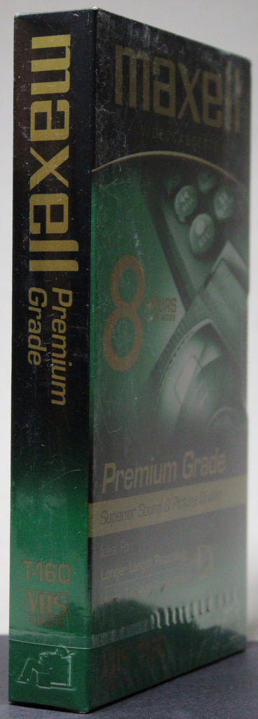 Maxell Premium Grade T-160 - Blank VHS (sealed)