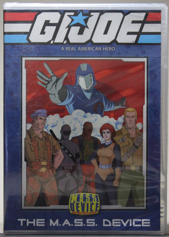 G.I. JOE: THE M.A.S.S. DEVICE - DVD (sealed): Shout Factory, 2009