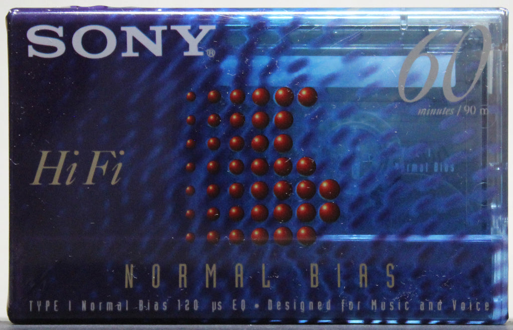 Sony Type I Normal Bias 60 Minute - Audio Blank (sealed)
