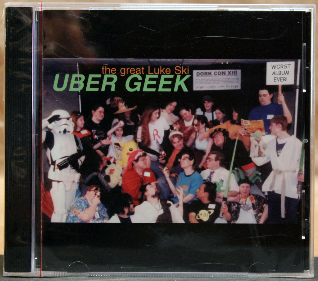 the great LUKE SKI: Uber Geek - CD (sealed): Gnome Production, 2002