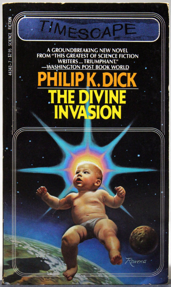 The Divine Invasion - First Timescape paperback printing, 1982