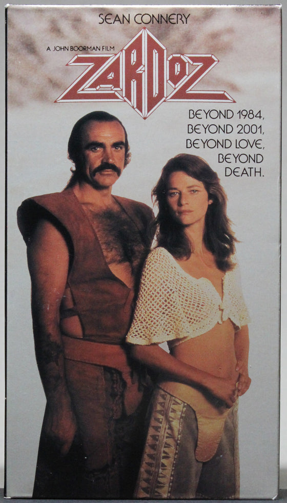 ZARDOZ - VHS: CBS/Fox Video, 1990