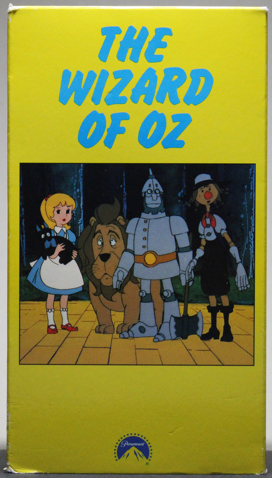 THE WIZARD OF OZ - VHS (animated): Paramount, 1991