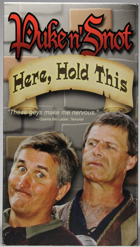 PUKE n' SNOT: HERE, HOLD THIS - VHS: Round Table Productions 2001