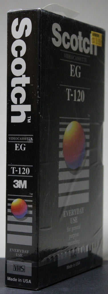 Scotch EG T-120 - Blank VHS (sealed)