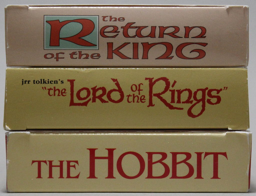 THE FELLOWSHIP OF THE RING (Animated) - VHS (3 cassettes): 1991, 1993