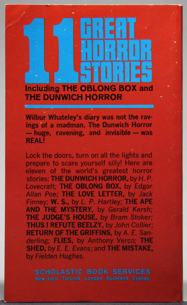 OWEN, BETTY M. (ed.): 11 Great Horror Stories