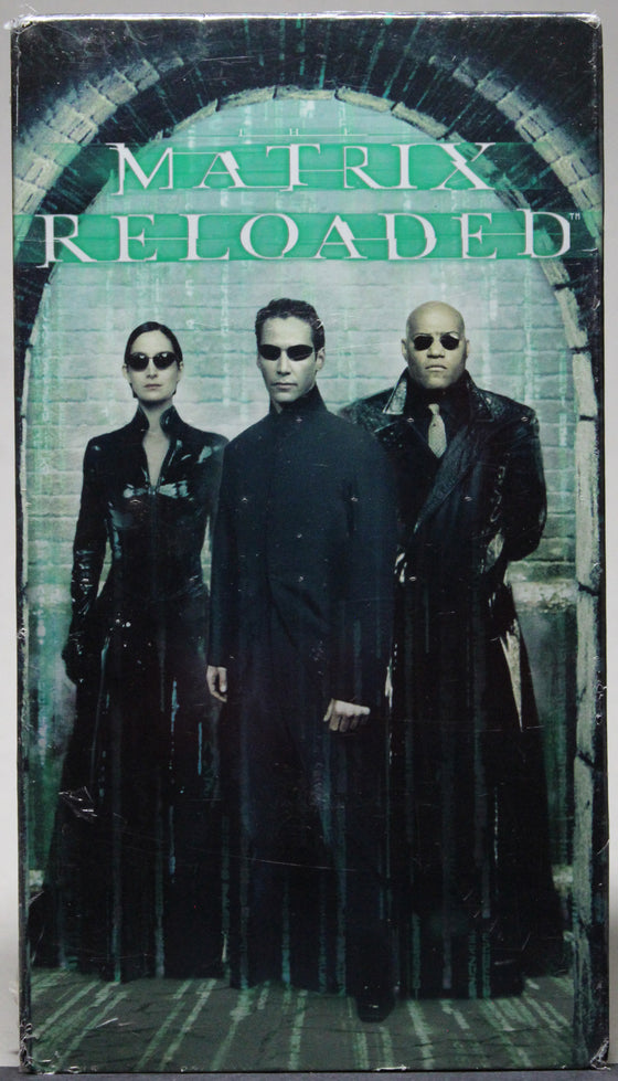 MATRIX RELOADED - VHS (sealed): Warner Home Video, 2003