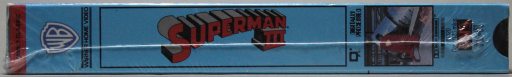 SUPERMAN III - VHS (sealed)