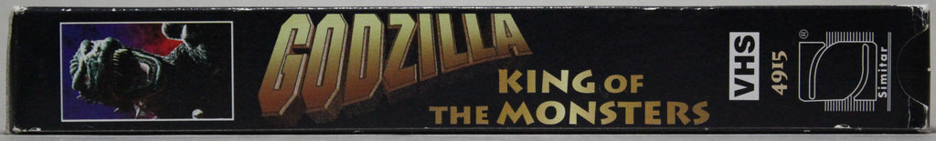 GODZILLA: KING OF MONSTERS - VHS: Simitar, 1998