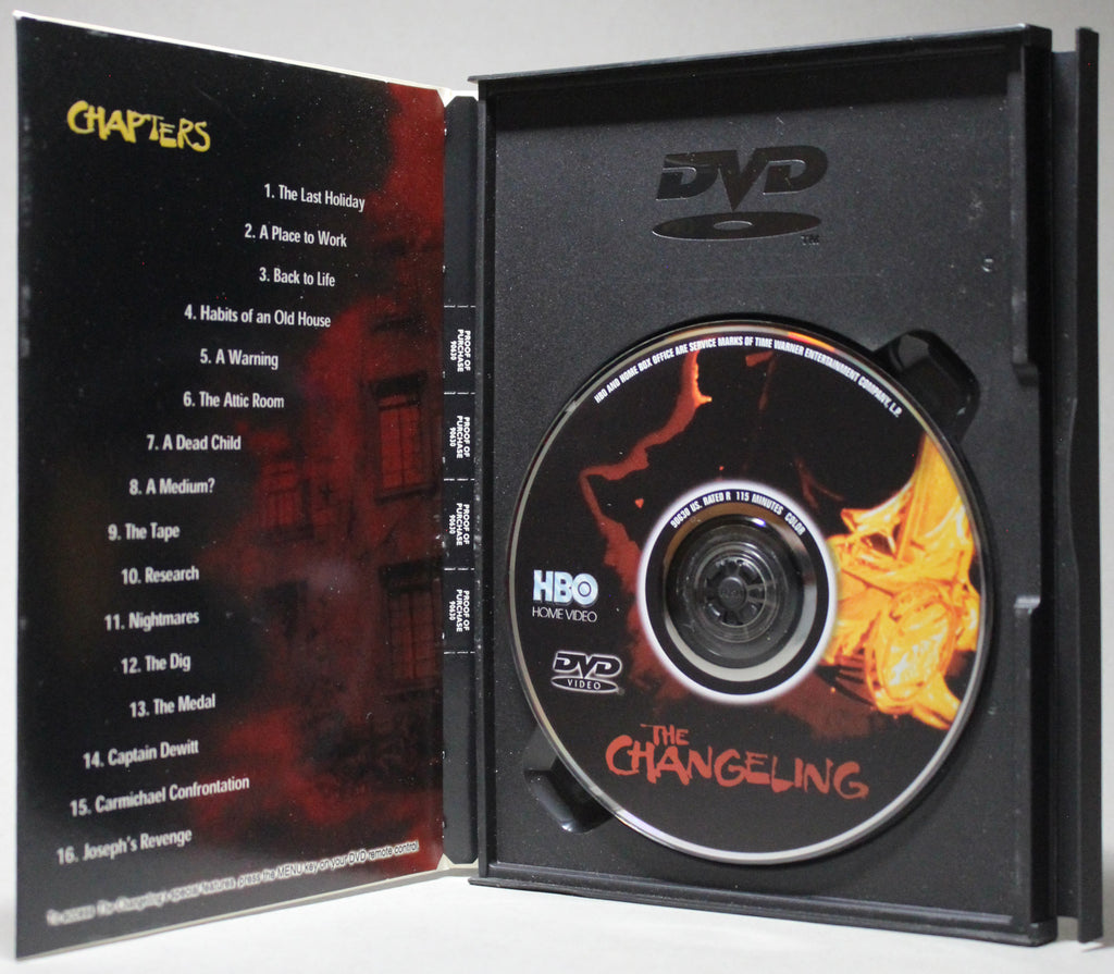 THE CHANGELING - Snap Case DVD: HBO Home Video, 2000