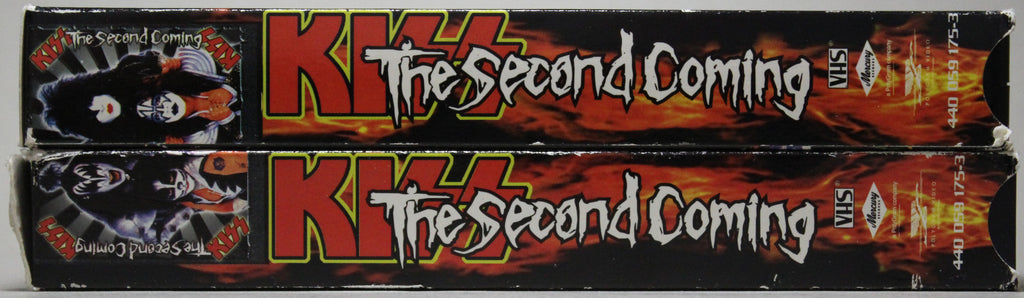 KISS: THE SECOND COMING - VHS: Polygram Video, 1998