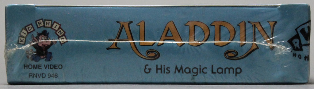 Aladdin & His Magic Lamp - VHS (sealed)