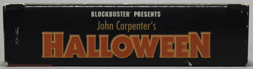 JOHN CARPENTER'S: HALLOWEEN - VHS: Blockbuster Entertainment, 1995