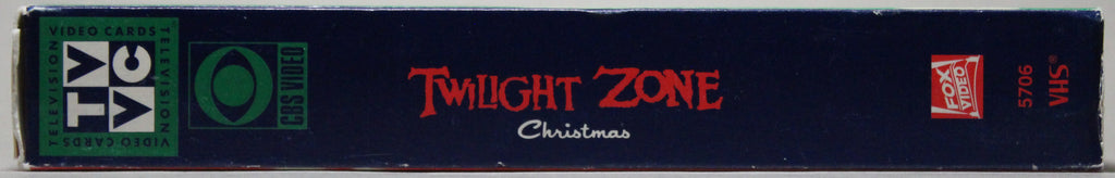 TWILIGHT ZONE CHRISTMAS: NIGHT OF THE MEEK - VHS: CBS Video, 1992