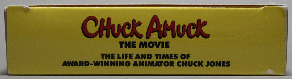 CHUCK AMUCK THE MOVIE: The Life and Times of Award-Winning Animator Chuck Jones - VHS: Warner Home Video, 1991
