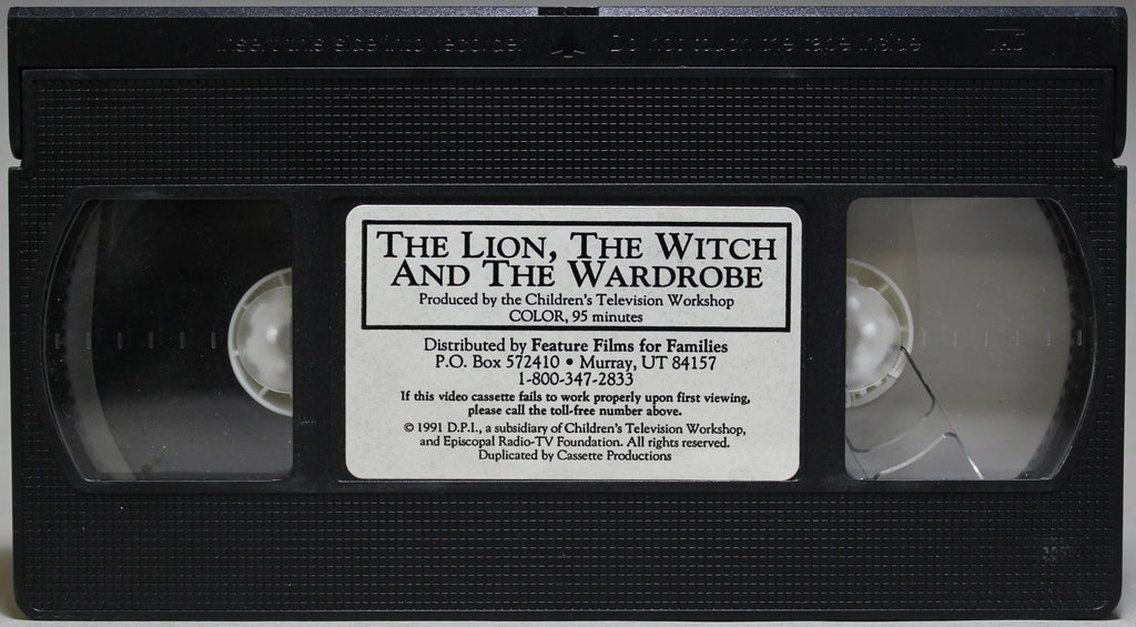 The Lion, The Witch and the Wardrobe - VHS