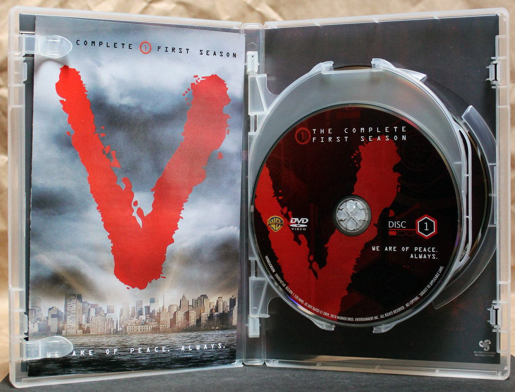 V: THE COMPLETE 1st & 2nd SEASONS - DVD: Warner Home Video, 2010, 2011