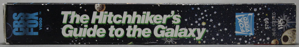 The Hitchhiker's Guide to the Galaxy - VHS