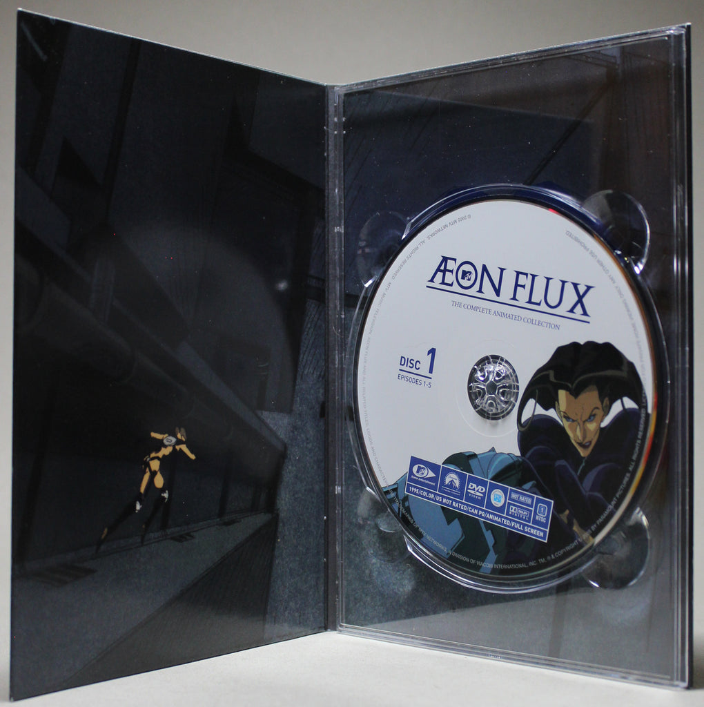 AEON FLUX: THE COMPLETE ANIMATED COLLECTION - DVD: Paramount, 2005