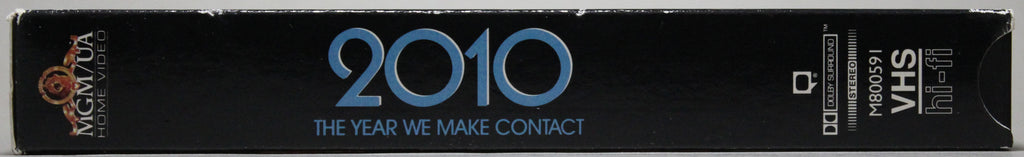 2010: THE YEAR WE MAKE CONTACT - VHS: MGM/UA Home Video, 1991