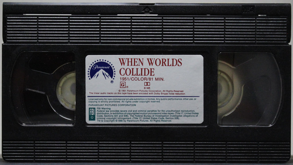 When Worlds Collide - VHS