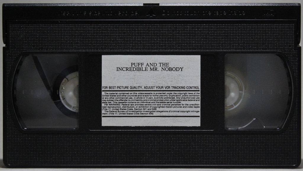PUFF AND THE INCREDIBLE MR. NOBODY - VHS: 1998