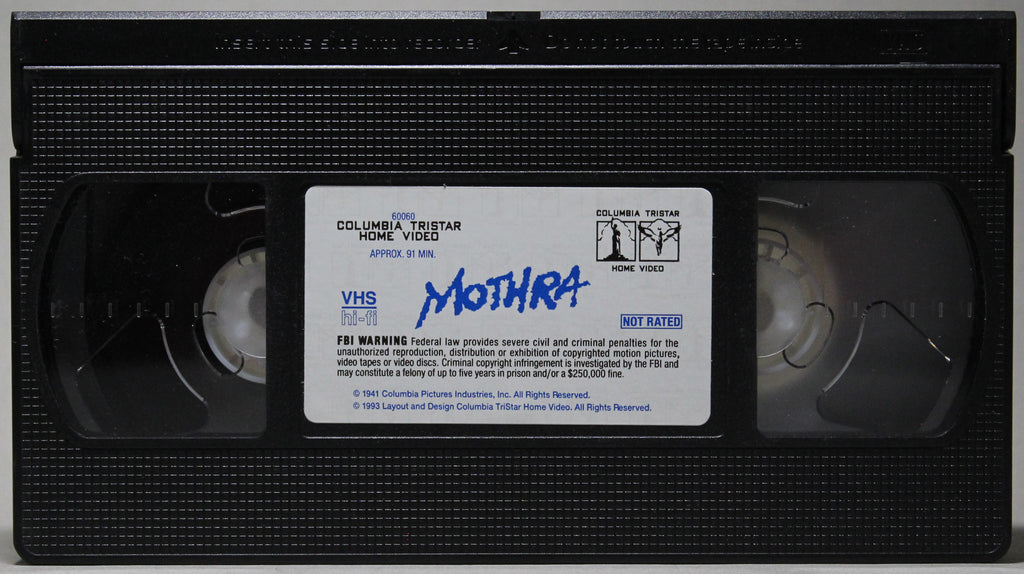 MOTHRA - VHS: Columbia Tristar Home Video, 1993