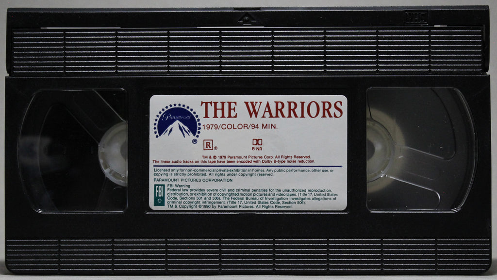 THE WARRIORS - VHS: Paramount, 1990