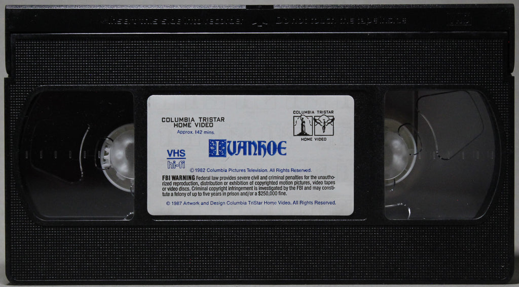 IVANHOE - VHS: Columbia Tristar Home Video, 1987