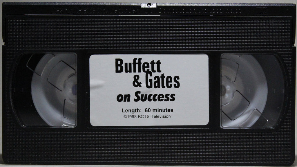 BUFFET & GATES ON SUCCESS - VHS: 1999