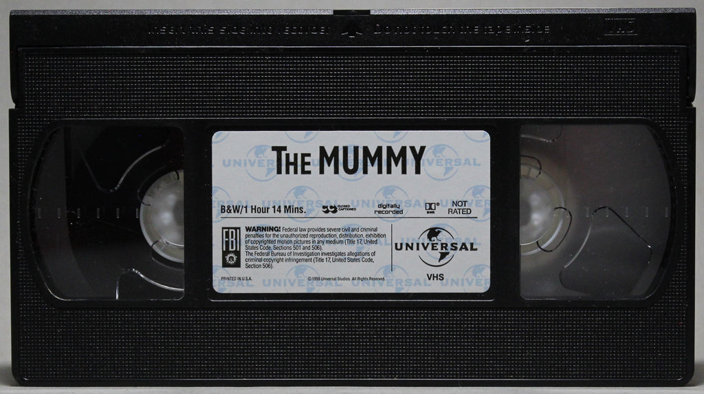 CLASSIC MONSTER COLLECTION: THE MUMMY - VHS: Universal Home Video, 1999